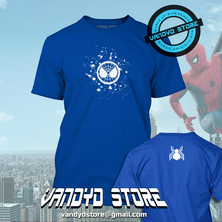 Spiderman home coming - azul